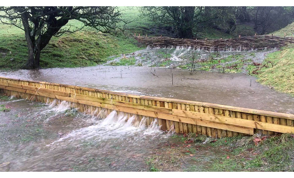 Natural Flood Management at Marlfield Farm, Earby
